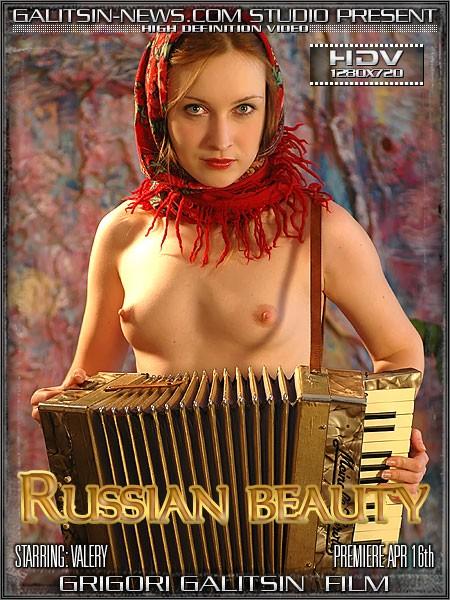 Valery - `Russian Beauty` - by Galitsin for GALITSINVIDEO