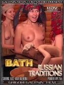 Alice & Katia & Valentina in Bath Russian Traditions video from GALITSINVIDEO by Galitsin