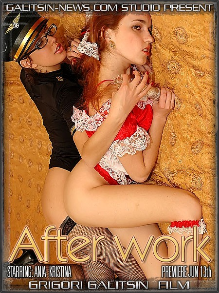 Ania & Kristina - `After Work` - by Galitsin for GALITSINVIDEO
