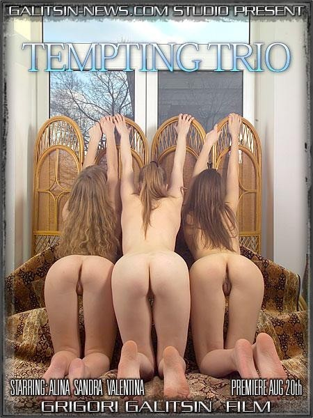 Alina & Sandra & Valentina in Tempting Trio video from GALITSINVIDEO by Galitsin