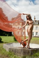 Melissa - Red  Fabric 2