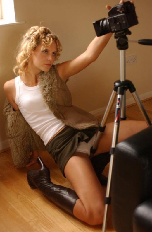 Joceline Brook Hamilton in Behind The Camera gallery from GIRLFOLIO