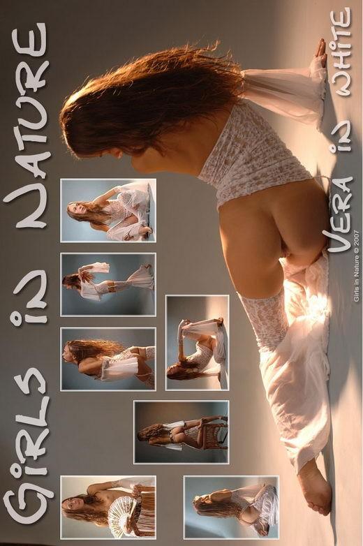 Vera - `Vera in White` - by Sergey Goncharov for GIRLSINNATURE