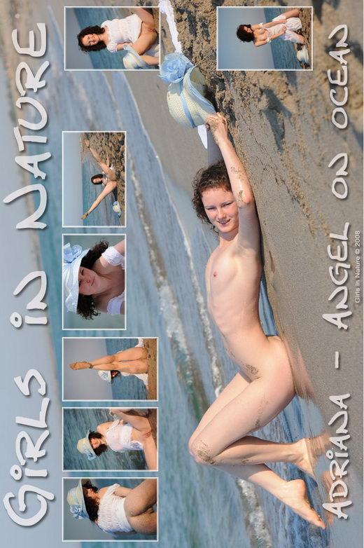 Adriana - `Angel on Ocean` - by Sergey Goncharov for GIRLSINNATURE