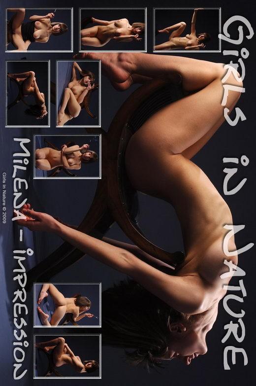 Milena - `Impression` - by Sergey Goncharov for GIRLSINNATURE