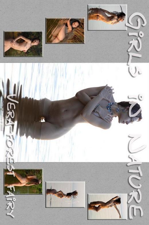 Vera - `Forrest Fairy` - by Sergey Goncharov for GIRLSINNATURE