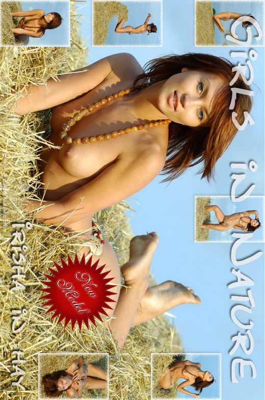 Irisha - `In Hay` - by Sergey Goncharov for GIRLSINNATURE