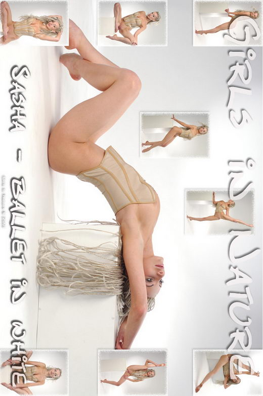 Sasha P - `Ballett in White` - by Sergey Goncharov for GIRLSINNATURE
