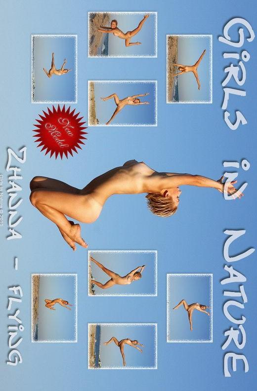 Zhanna - `Flying` - by Sergey Goncharov for GIRLSINNATURE