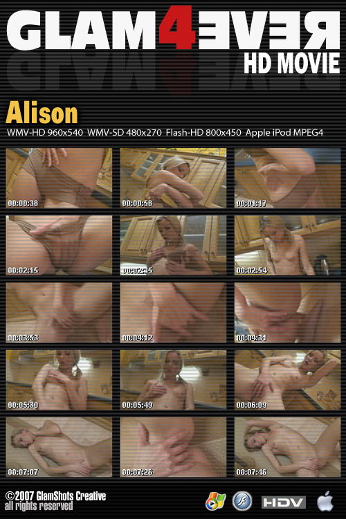 Alison - for GLAM4EVER