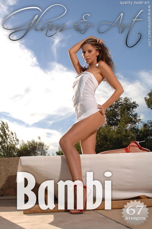 Bambi - `White` - by Gabor Orban for GLAMANDART