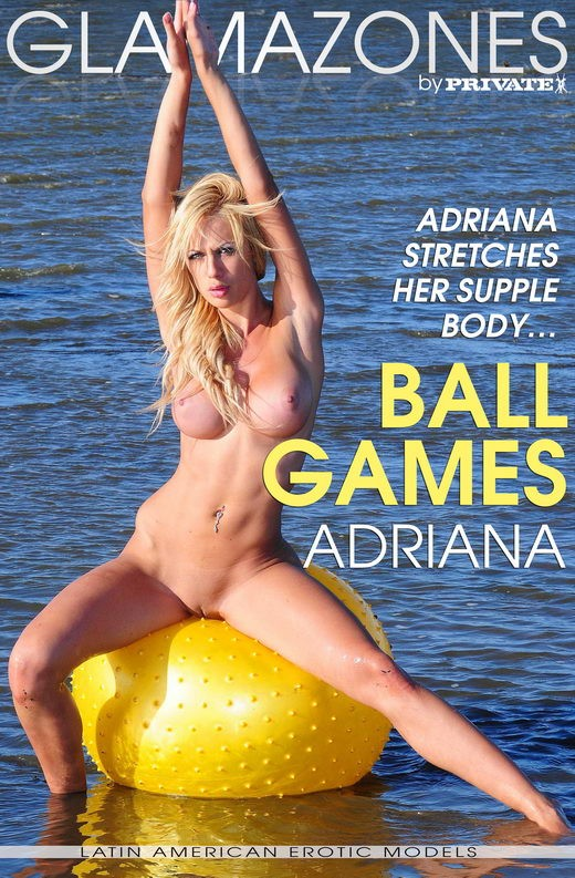 Adriana - `Ballgames` - by Walter Bosque for GLAMAZONES