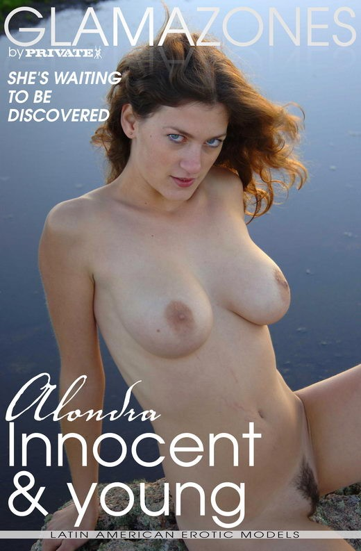 Alondra - `Innocent & Young` - by Walter Bosque for GLAMAZONES