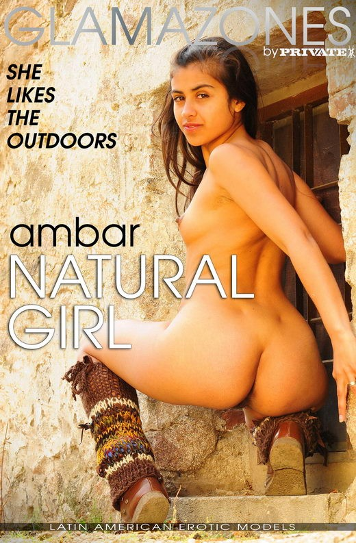 Ambar - `Natural Girl` - by Walter Bosque for GLAMAZONES