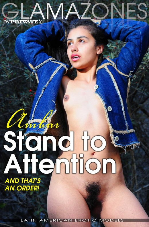 Ambar - `Stand To Attention` - by Walter Bosque for GLAMAZONES