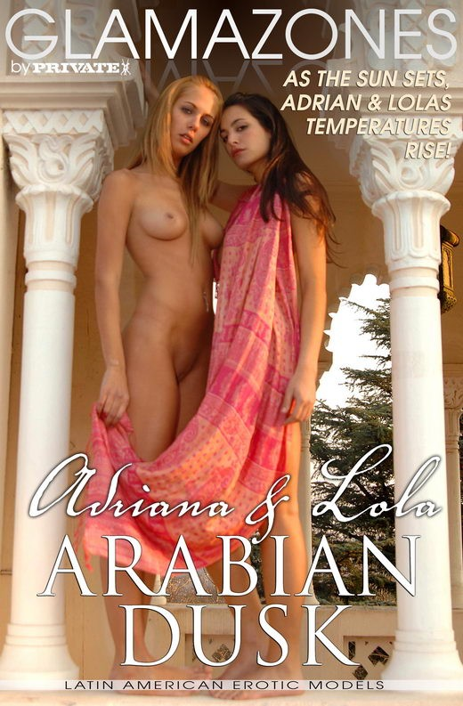 Adriana & Lola - `Arabian Dusk` - by Walter Bosque for GLAMAZONES