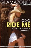 Aixa in Ride Me gallery from GLAMAZONES by Walter Bosque
