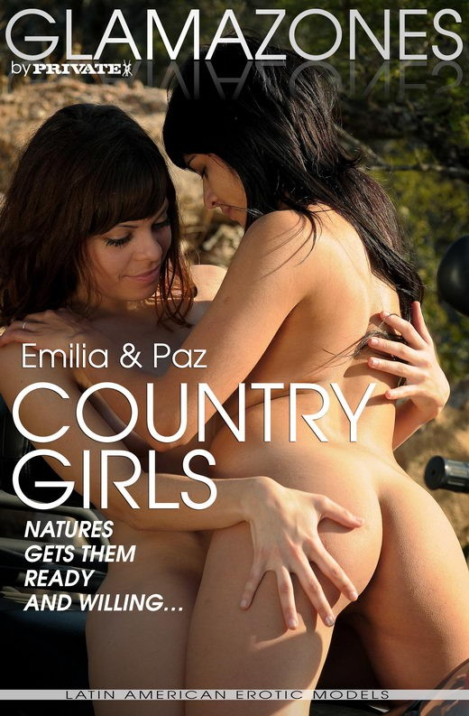 Emilia & Paz - `Country Girls` - by Walter Bosque for GLAMAZONES