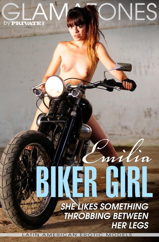 Emilia - `Biker Girl` - by Walter Bosque for GLAMAZONES