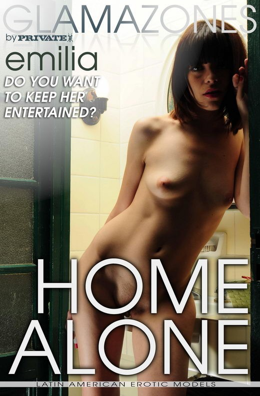 Emilia - `Home Alone` - by Walter Bosque for GLAMAZONES