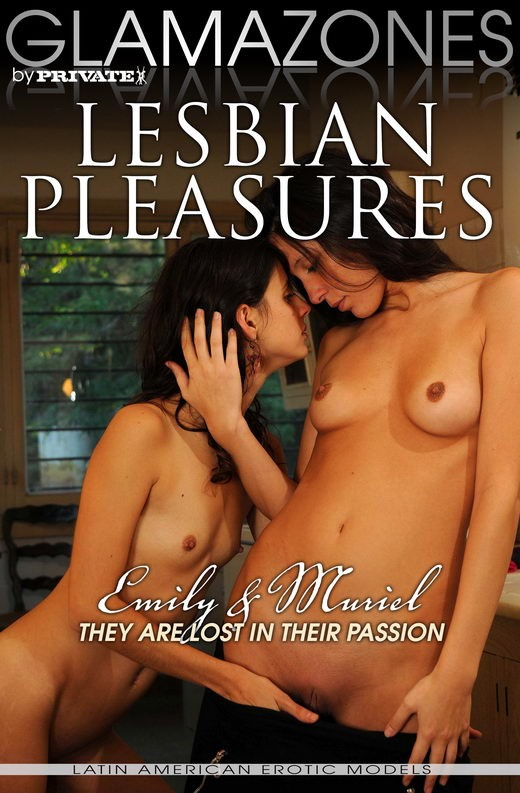 Emily & Muriel - `Lesbian Pleasures` - by Walter Bosque for GLAMAZONES