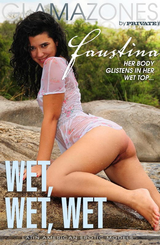 Faustina - `Wet Wet Wet` - by Walter Bosque for GLAMAZONES