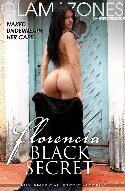 Florencia - `Black Secret` - by Walter Bosque for GLAMAZONES
