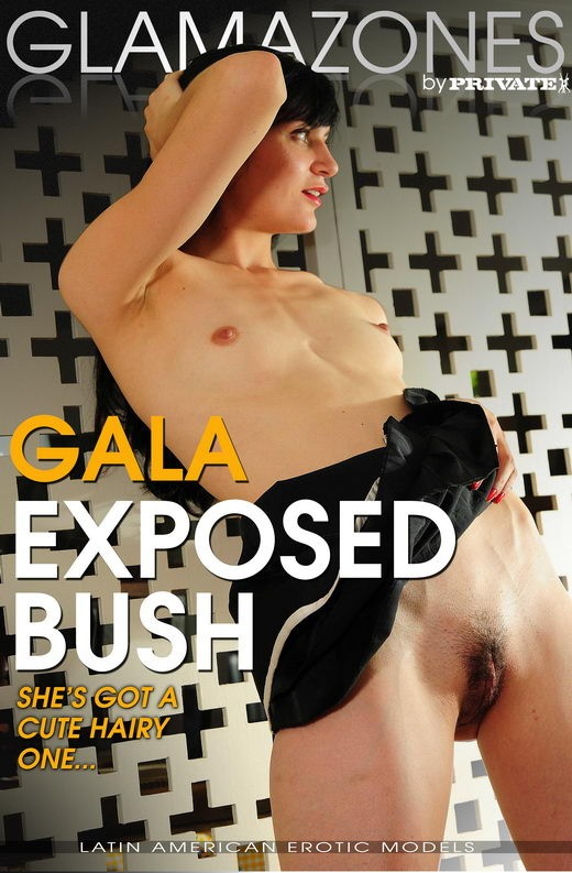 Gala - `Exposed Bush` - by Walter Bosque for GLAMAZONES
