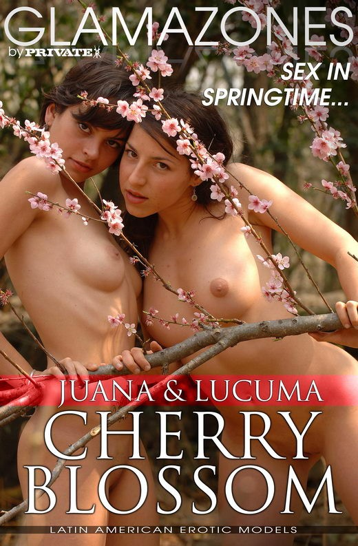 Juana & Lucuma - `Cherry Blossom` - by Walter Bosque for GLAMAZONES