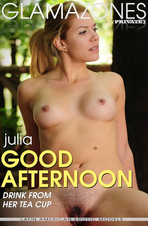 Julia - `Good Afternoon` - by Walter Bosque for GLAMAZONES