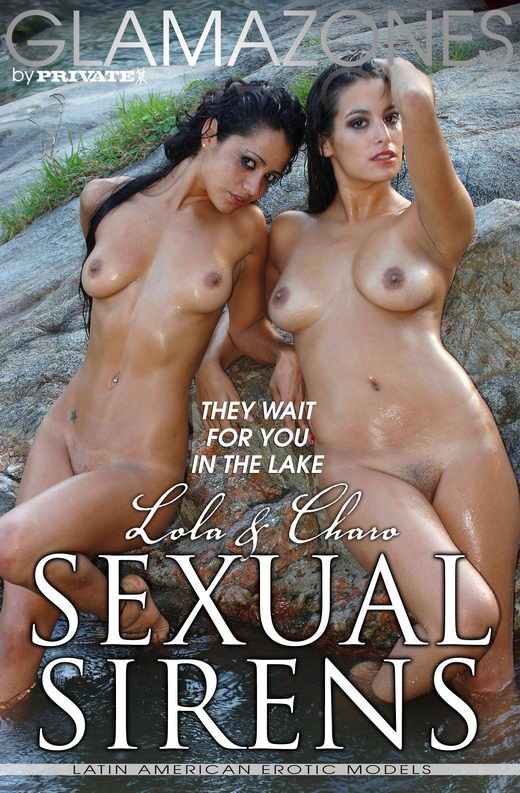 Lola & Charo - `Sexual Sirens` - by Walter Bosque for GLAMAZONES