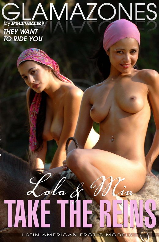 Lola & Mia - `Take The Reins` - by Walter Bosque for GLAMAZONES