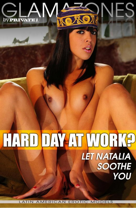Natalia - `Hard day at work?` - by Walter Bosque for GLAMAZONES