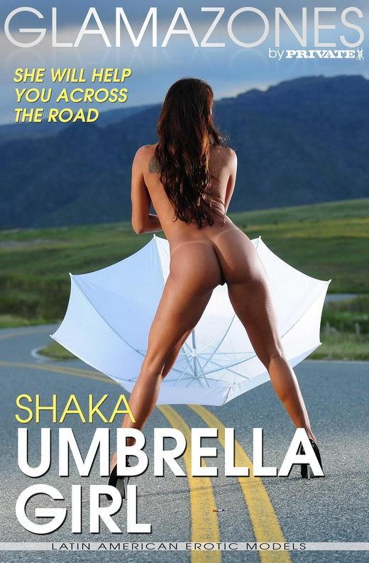 Shaka - `Umbrella Girl` - by Walter Bosque for GLAMAZONES