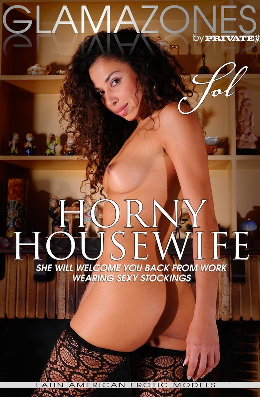 Sol - `Horny Housewife` - by Walter Bosque for GLAMAZONES