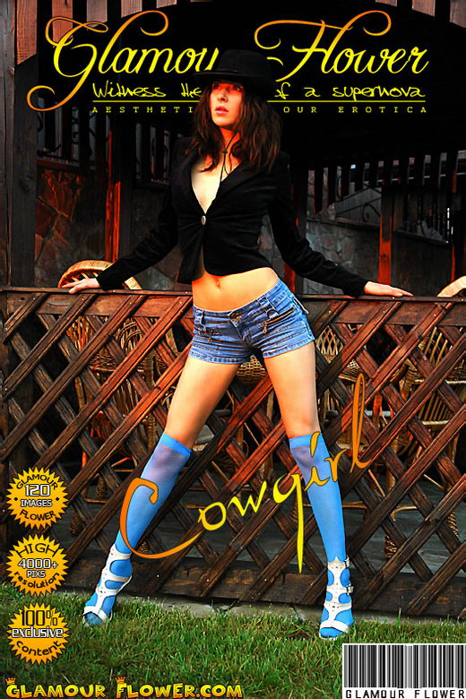 Dary - `Cowgirl` - for GLAMOURFLOWER ARCHIVES