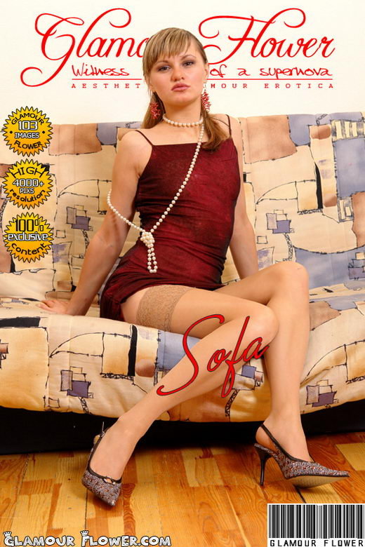 Galina - `Glamour Sofa` - for GLAMOURFLOWER ARCHIVES