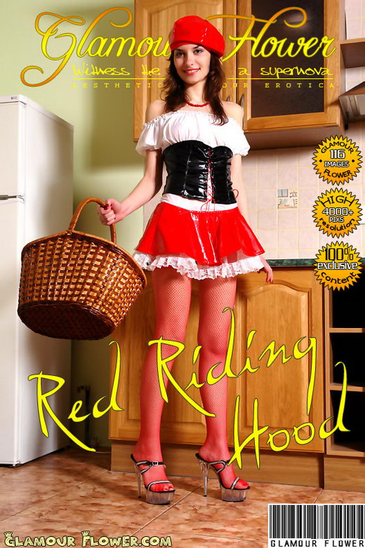 Jini - `Red Riding Hood` - for GLAMOURFLOWER ARCHIVES