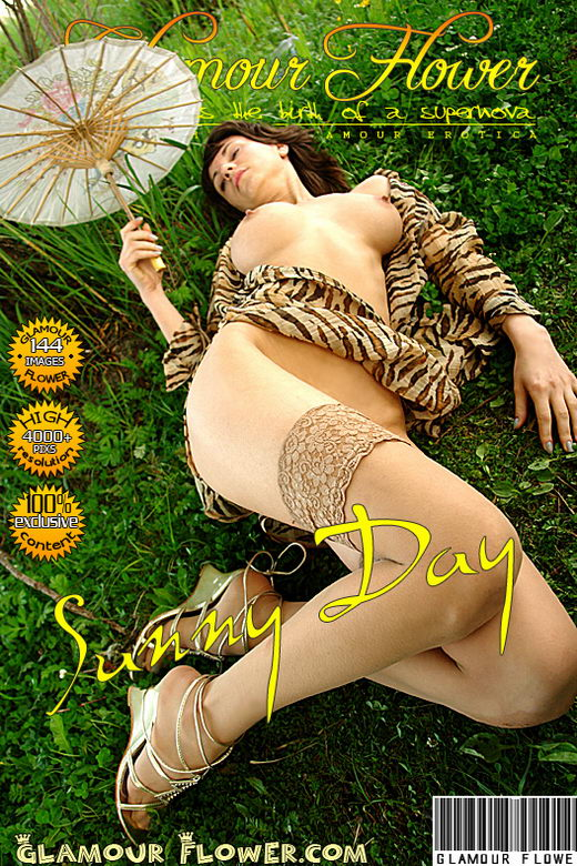 Ruta - `Sunny Day` - for GLAMOURFLOWER ARCHIVES