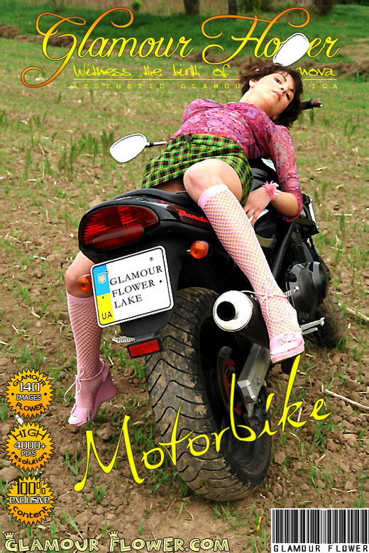 Ruta - `Motobike` - for GLAMOURFLOWER ARCHIVES