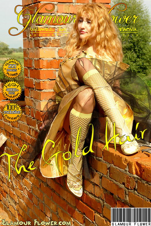 Lilu - `The Gold Hair` - for GLAMOURFLOWER ARCHIVES
