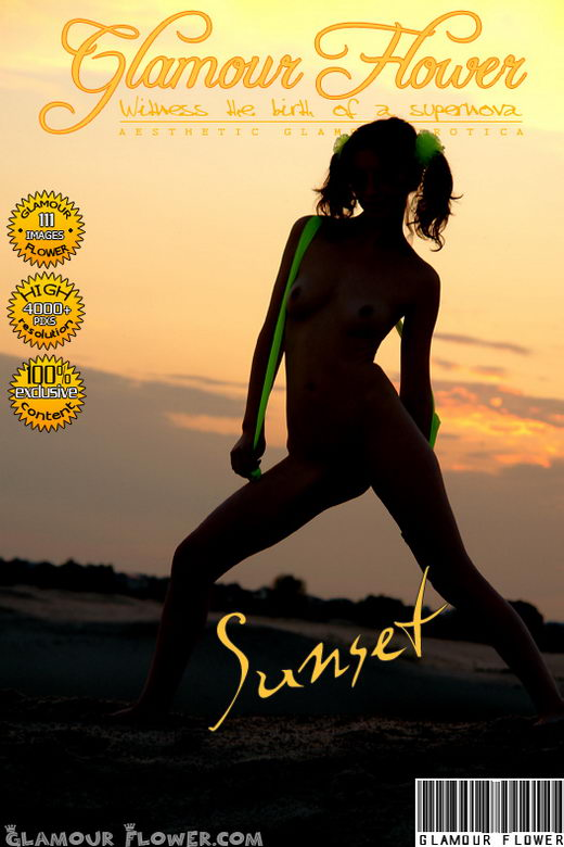 Rada - `Sunset` - for GLAMOURFLOWER ARCHIVES