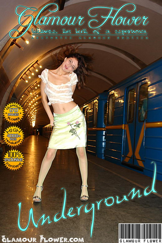 Dary - `Underground` - for GLAMOURFLOWER ARCHIVES