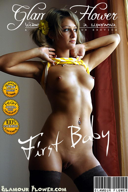 July - `First Baby` - for GLAMOURFLOWER ARCHIVES