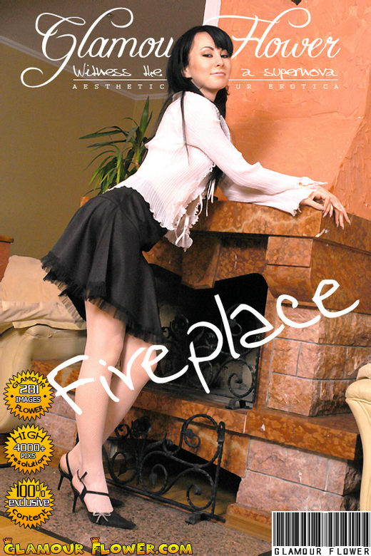 Kristina - `Fireplace` - for GLAMOURFLOWER ARCHIVES