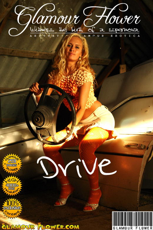 Erika - `Drive` - for GLAMOURFLOWER ARCHIVES