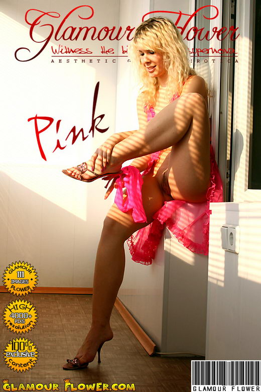 Leo - `Pink Pantyhose` - for GLAMOURFLOWER ARCHIVES
