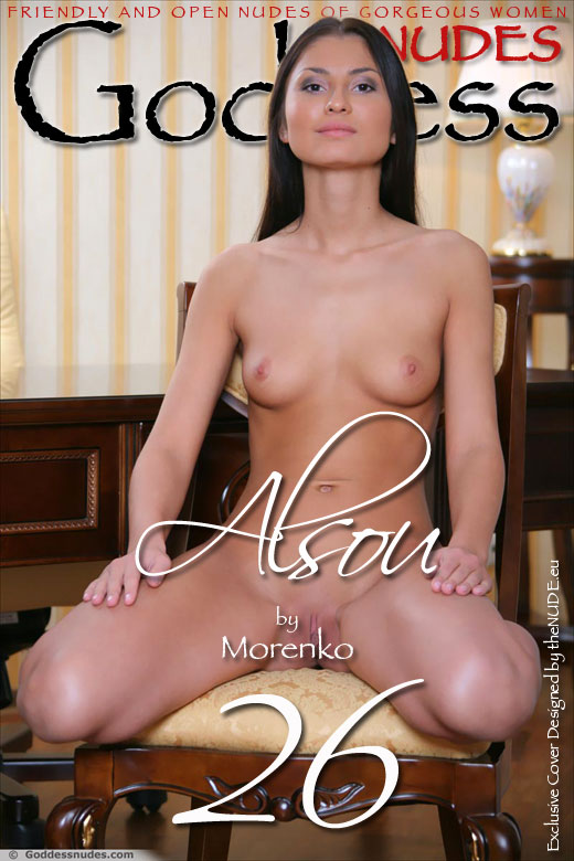 Alsou - `Set 1` - by Morenko for GODDESSNUDES