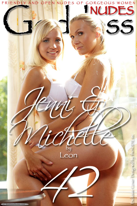 Jenni & Michelle - `Set 1` - by Leon for GODDESSNUDES