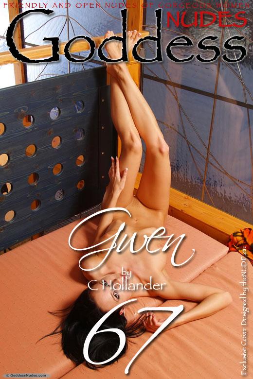 Gwen - `Set 1` - by C Hollander for GODDESSNUDES